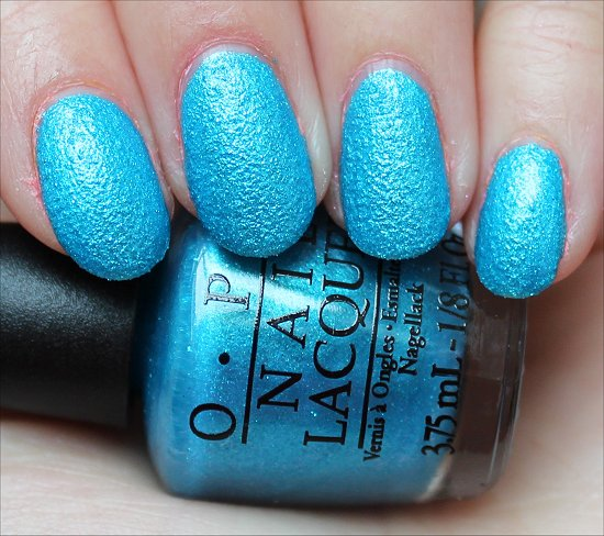 OPI What's a Little Rain Forest Swatch