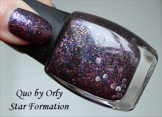 Quo by Orly Star Formation Swatch & Pictures