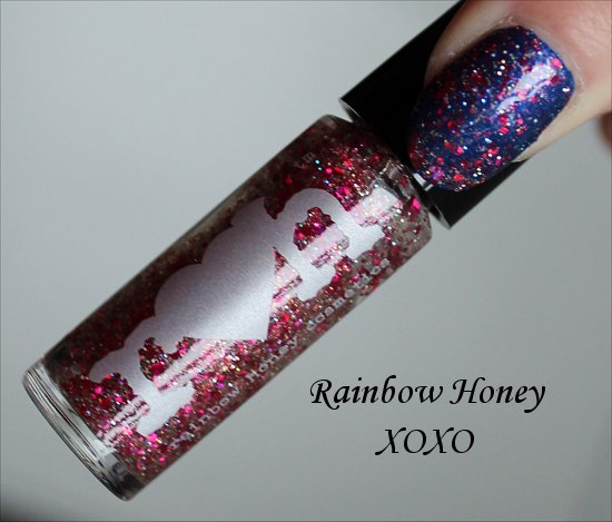 Rainbow Honey XOXO Review & Swatches