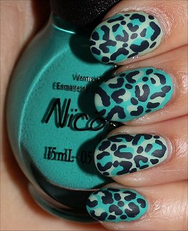 SwatchAndLearn February Nail Art