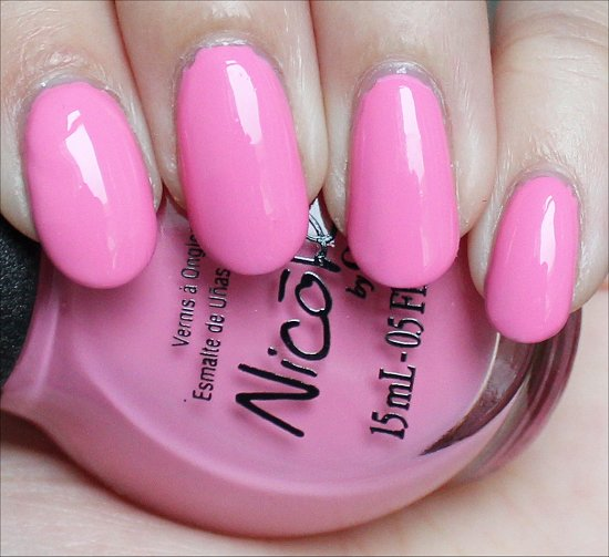 Carnival Cotton Candy Nicole by OPI Swatches