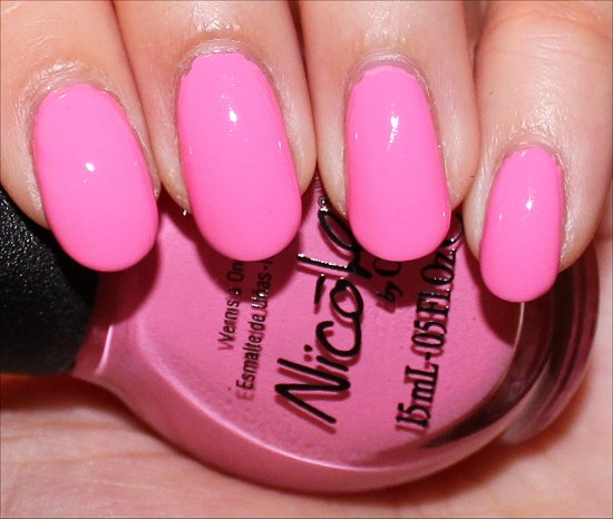 Carnival Cotton Candy Swatch Nicole by OPI