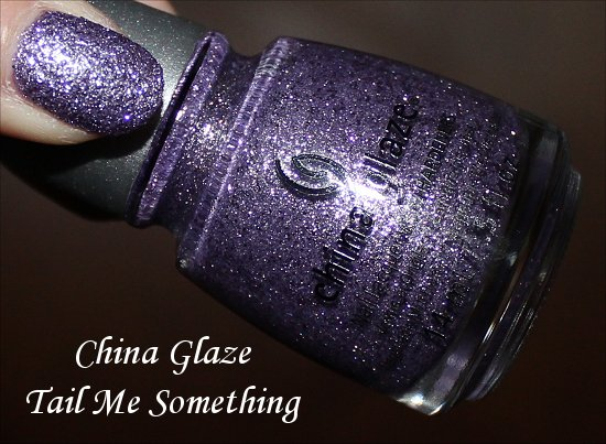 China Glaze Tail Me Something Swatches & Pictures