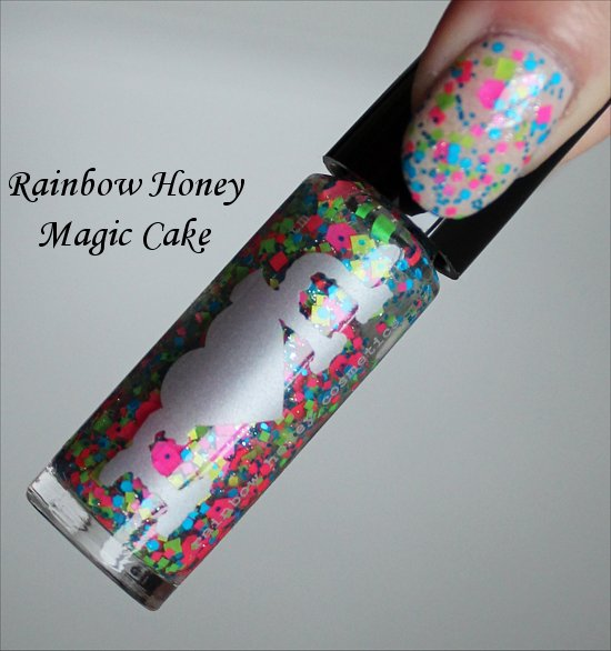 Magic Cake Rainbow Honey
