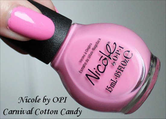 Nicole by OPI Carnival Cotton Candy Carrie Underwood
