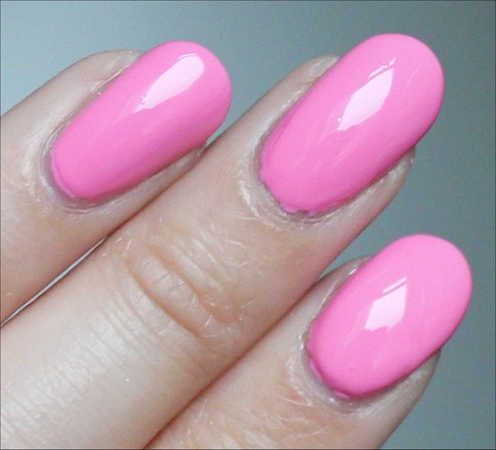 Nicole by OPI Carnival Cotton Candy Swatch & Review