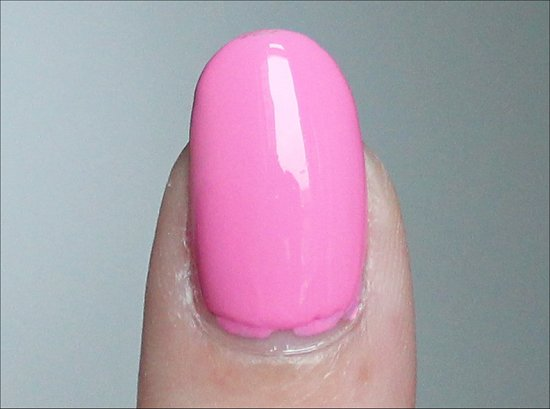 Nicole by OPI Carnival Cotton Candy Swatch