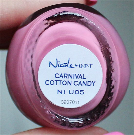 Nicole by OPI Carnival Cotton Candy