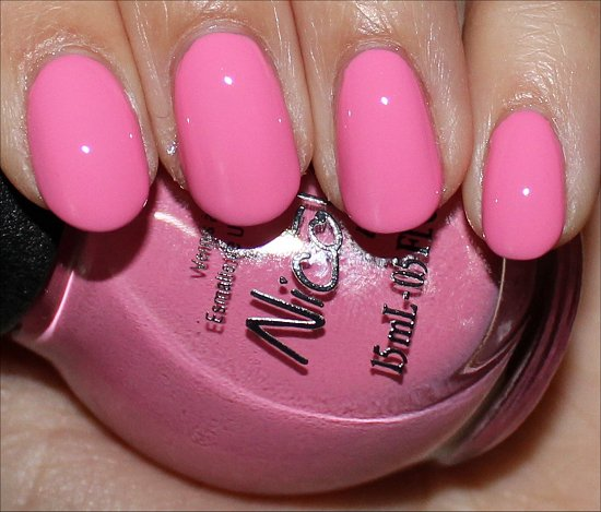 Nicole by OPI Carrie Underwood Collection Carnival Cotton Candy Swatches