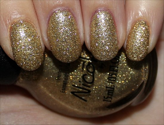 Nicole by OPI Carrie'd Away Swatches