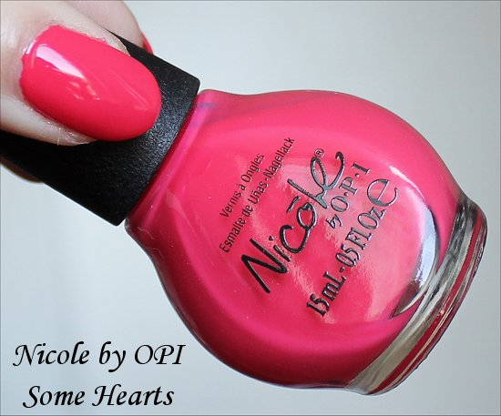 Nicole by OPI Some Hearts Swatch Carrie Underwood