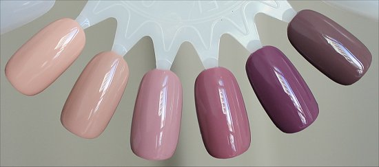 Zoya Naturel Collection Swatches