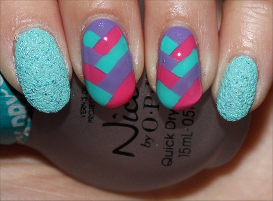 Fishtail Braid Nail Art Tutorial Swatch And Learn Step 6
