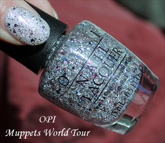Muppets World Tour OPI Swatches