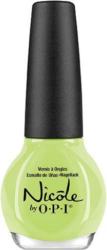 Nicole by OPI Seize the Summer Collection Lay It On The Lime