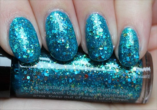 Rainbow Honey The Kraken Swatch & Review