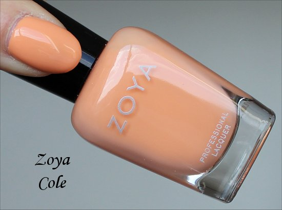 Zoya Cole Swatch Awaken Collection 2014