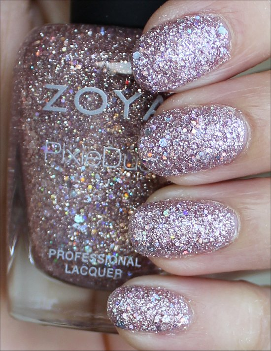 Zoya Lux Swatches & Review