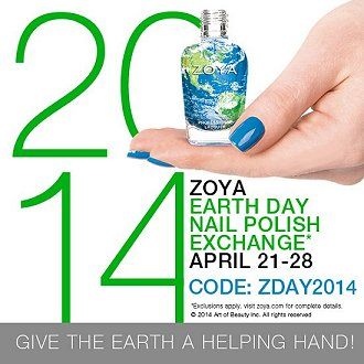 Zoya Nail Polish Exchange 2014