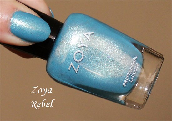 Zoya Rebel Swatch & Photos