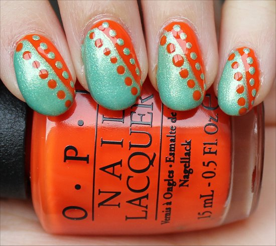 Dotty Nail Art Swatches