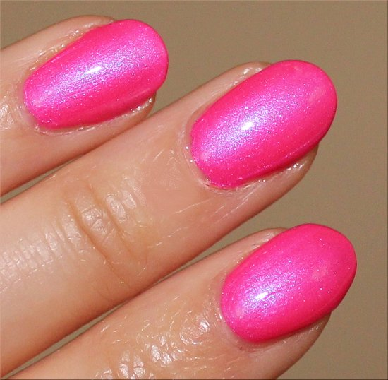 Hotter Than You Pink OPI Neon Swatches