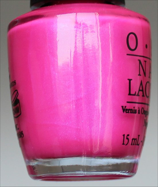 Hotter Than You Pink OPI Neons Collection