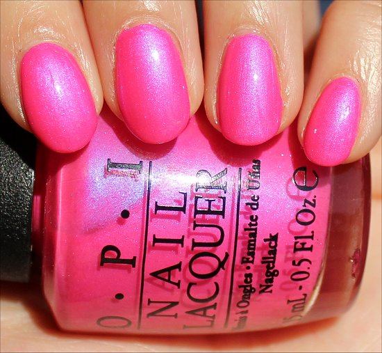 Hotter Than You Pink by OPI