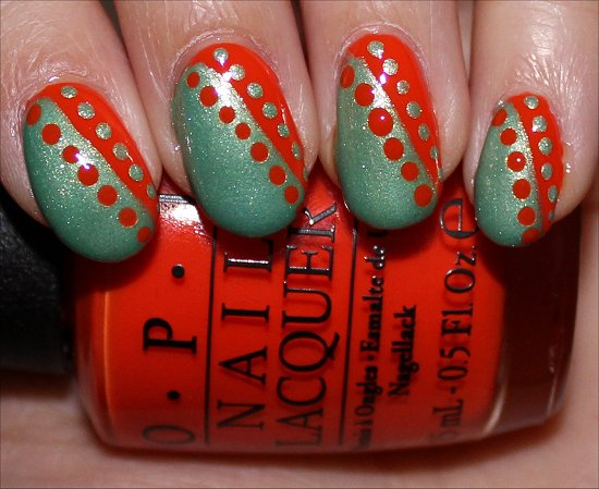 Juice Bar Hopping OPI Neon Nail Art