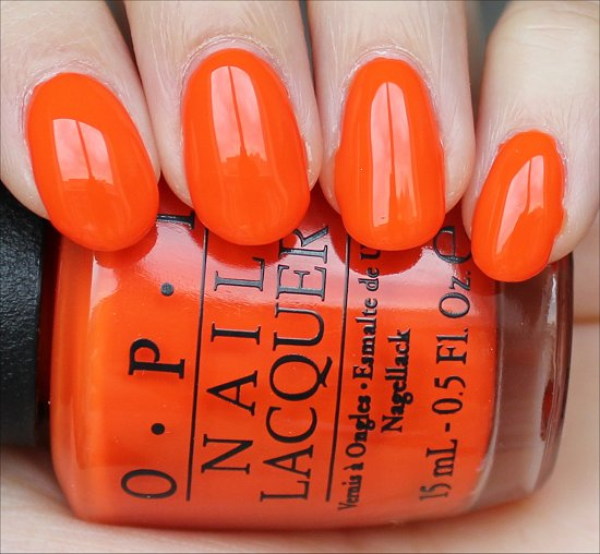 Juice Bar Hopping OPI Neons Collection Swatches