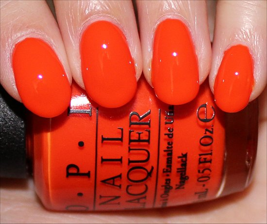 Juice Bar Hopping Swatch OPI Neon Collection Swatches