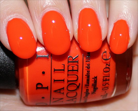 Juice Bar Hopping Swatches OPI Neon Collection
