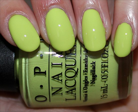 Life Gave Me Lemons Neons Collection by OPI