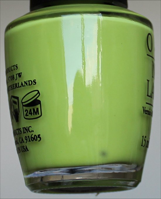 Life Gave Me Lemons by OPI Neons Collection