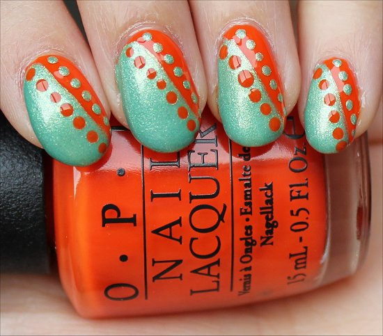 NailArt Using Dots