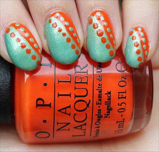 Nail Art Dotty Nails