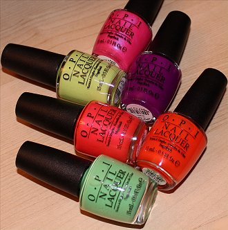 Neons by OPI Collection