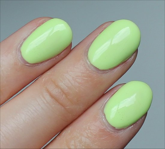 Nicole by OPI Lay It On the Lime Review & Swatch