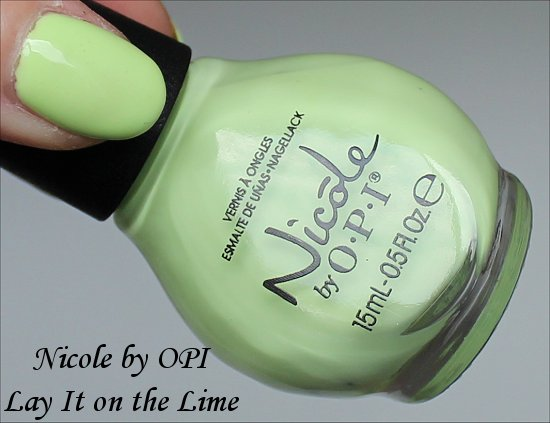 Nicole by OPI Seize the Summer Lay It On the Lime
