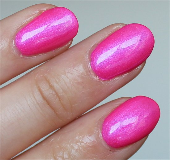 OPI Hotter Than You Pink Neon Collection Swatch