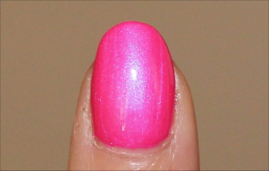 OPI Hotter Than You Pink Swatch OPI Neons Swatches