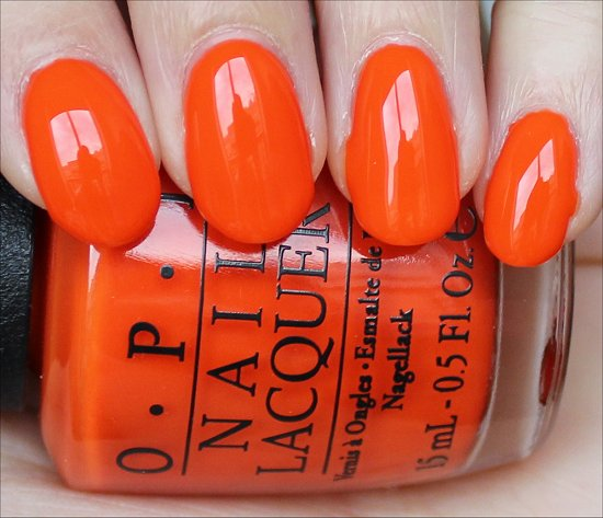 OPI Juice Bar Hopping Swatch & Review