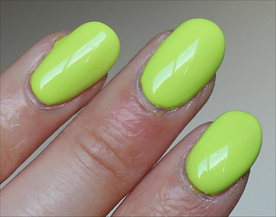 OPI Life Gave Me Lemons Swatch & Pictures