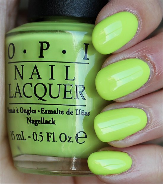 OPI Life Gave Me Lemons Swatches & Review
