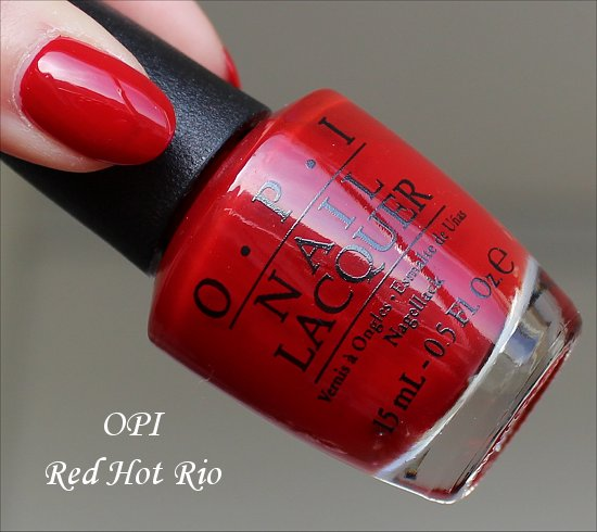 OPI Red Hot Rio Brazil Collection