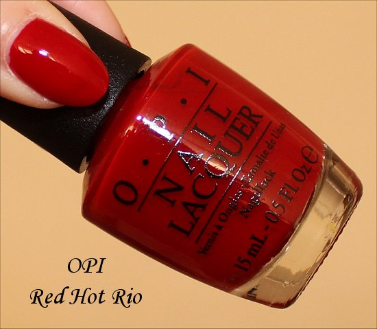 OPI Red Hot Rio Pictures