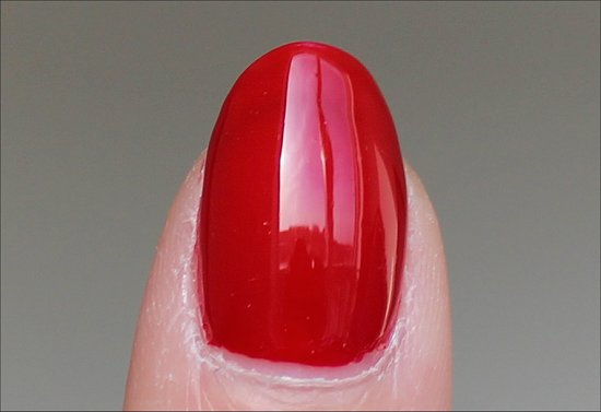 OPI Red Hot Rio Swatch