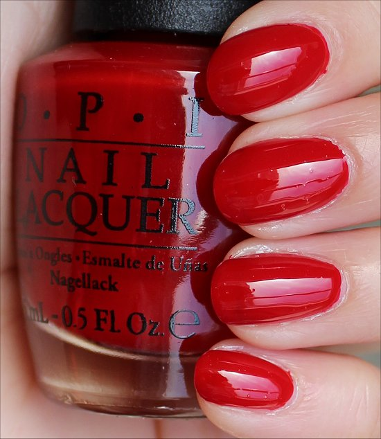 OPI Red Hot Rio Swatches & Review