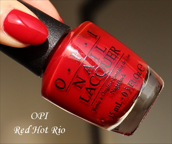 Red Hot Rio OPI Brazil Collection