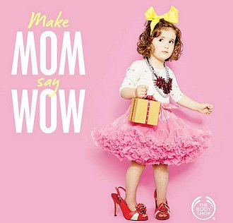 The Body Shop Make Mom Say Wow